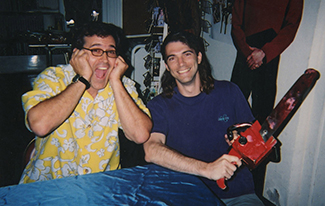 Jeff with Bruce Campbell